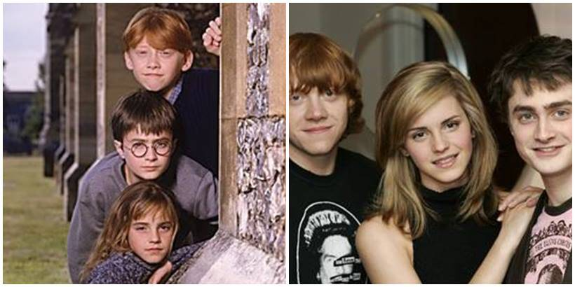 Harry Potter cast then and now: Whatsapp chat vs Floo