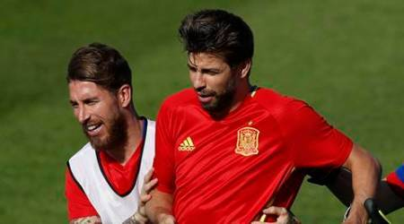 In national team, Pique and Ramos back to being friends