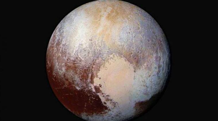 Pluto, planet, Pluto planet status, Jupiter, Earth, celestial bodies, Moon, Pluto surface, icy Pluto, space, stars, universe, galaxy, planets, science, science news