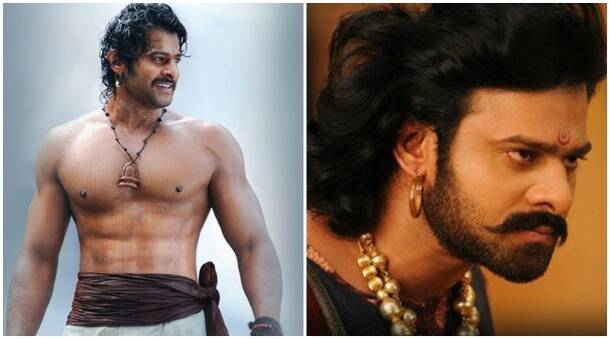 prabhas as shivudu, prabhas as baahubali, prabhas body transformation