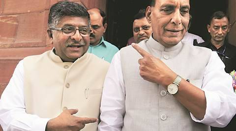If nation can trust PM Modi with n-button, why not in appointing judges:Ravi Shankar Prasad
