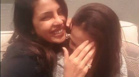 Priyanka Chopra and Aishwaryaa Dhanush are hiding something behind that laughter? Seepic