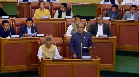 GST, Goods and Services Tax, GST bill, Manipur assembly, chief minister N Biren Singh, india news, indian express