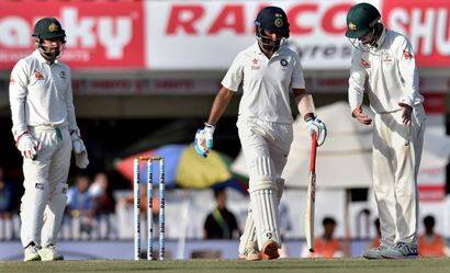 India vs Australia: Cheteshwar Pujara, Pat Cummins star on Day 3