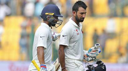 India batting finally comes good against Australia