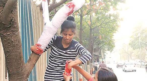 The Heal Project, Pune The Heal Project, Koregaon Park, bandage tree branches in Pune, Pune news, Latest news, India news, National news