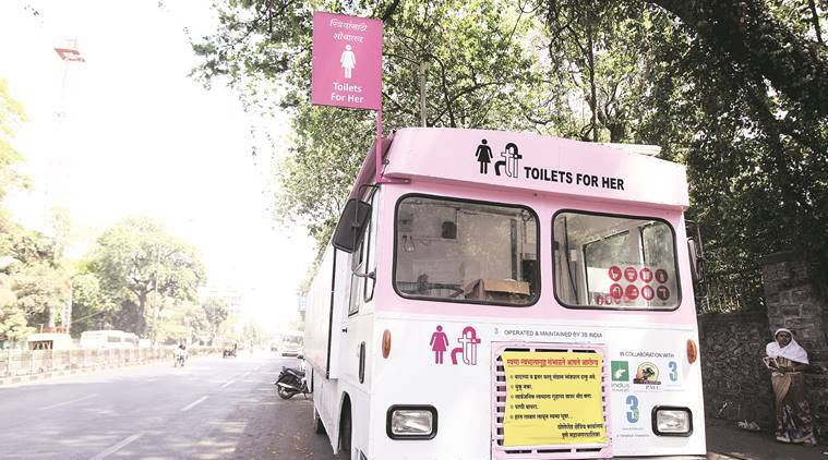 Toilets for Her, Pune toilets for women, Pune Municipal Corporation, toilets for women, Pune news, india news, latest news, indian express
