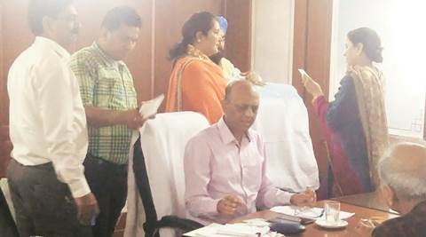Punjab: Minister, husband 'share' work at her secretariat office