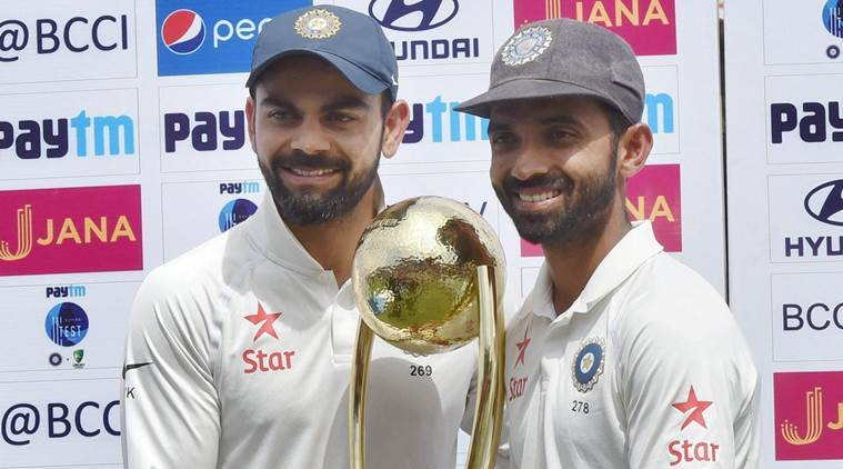 Ajinkya Rahane, Ajinkya Rahane India, India Ajinkya Rahane, Mitchell Johnson, Mitchell Johnson Australia, sports news, sports, cricket news, Cricket, Indian Express