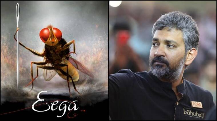 Rajamouli won Best Director and Best Screenplay Writer awards for Eega