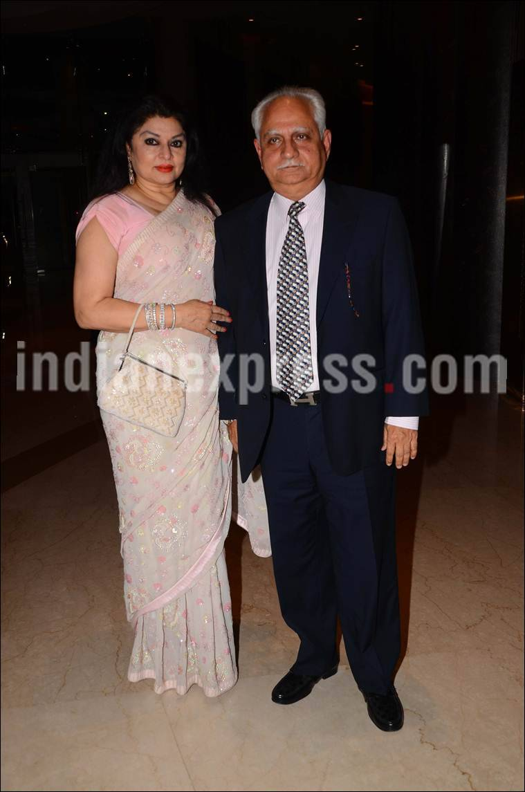 ramesh sippy, kiran juneja, Mandana Karimi wedding reception, Mandana Karimi reception, Mandana Karimi reception pics