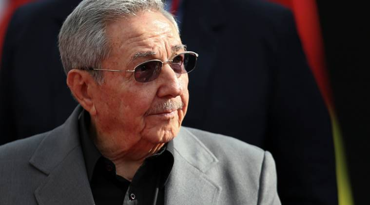 Miguel Diaz-Canel. raul castro, indian express