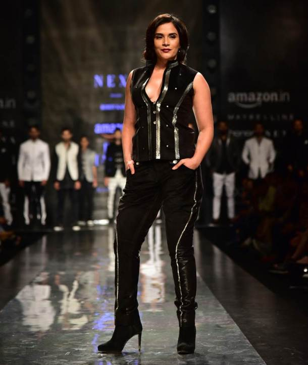 alia bhatt, vaani kapoor, sakshi tanwar, richa chadha, aifw 2017, aifw 2017 photos, AIFW Autumn-Winter 2017, fashion news, lifestyle news, latest news, indian express
