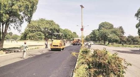 Work on re-carpeting of roads begins in Mohali