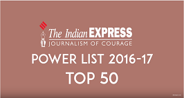 The Indian Express Power List 2016-17: Top50