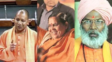 yogi adityanath, UP cM, Uttar Pradesh CM, adityanath, UP CM yogi adityanath, yogi adityanath becomes UP CM, UP CM, Uttar Pradesh chief minister, Yogi Adityanath swearing in, Yogi Adityanath swearing in ceremony, Yogi Adityanath becomes UP chief minister, BJP, BJP in UP, BJP wins UP elections, Indian Express