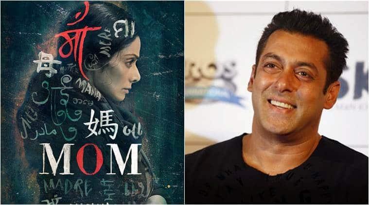 salman khan sridevi, sridevi film mom, salman khan sridevi movie poster launch, salman khan praises sridevi, salman khan compares sridevi Khans,