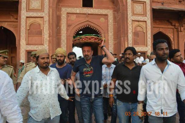 Sanjay dutt, fatehpur sikri