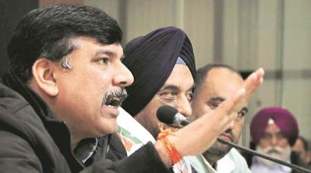 MCD drubbing: Heads roll in AAP, Sanjay Singh offers to resign as Punjab unitin-charge