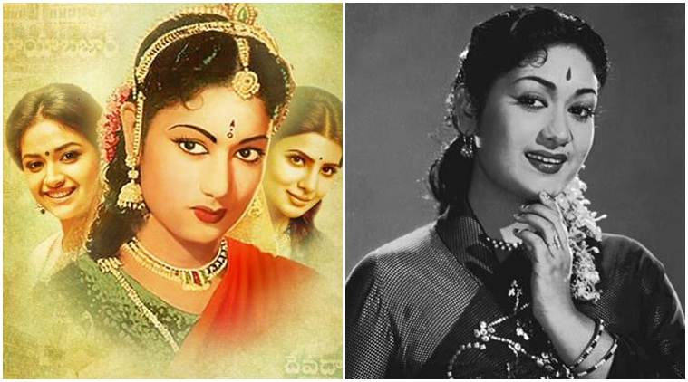 savitri, savitri biopic, samantha prabhu, keerthy suresh, yevade subramanyam, indian express news, entertainment