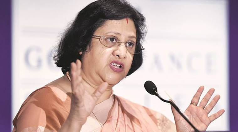 loan waiver, farm loan waiver, crop loan waiver, SBI chairman, SBI chairman arundhati bhattacharya, state bank of india chief, SBI chief criticizes loan waiver