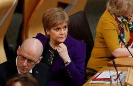 Nicola Sturgeon, Scotland First Minister, Scotland, Theresa May