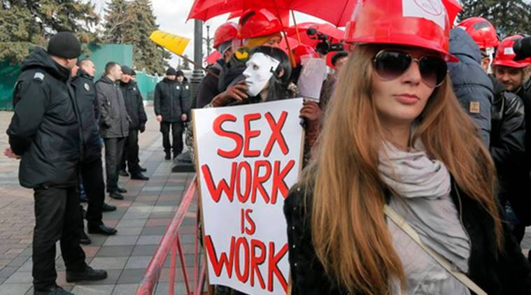 Image result for In Ukraine: Sex workers march demanding legalisation