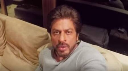 shah rukh khan, anushka sharma, shah rukh khan mannat, shah rukh khan shashi, shah rukh khan phillauri, anushka sharma phillauri, anushka sharma mannat, shah rukh khan mannat haunted, anushka sharma promotes phillauri from mannat, anushka at mannat, indian express, entertainment news