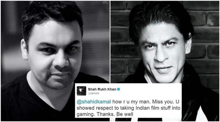 shah rukh khan, shah rukh khan twitter, shah rukh khan changed life, shah rukh khan love, shah rukh khan fans, shah rukh khan tweets, shah rukh khan helped man, shah rukh khan shahid kamal ahmad, shahid kamal ahmad, srk, shah rukh, indian express, indian express news