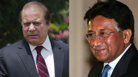 Nawaz Sharif calls Pervez Musharraf coward, asks judiciary to bring him back