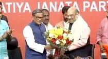 Former Congress veteran SM Krishna joins BJP