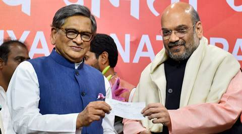 S M Krishna joining BJP not a loss for party: Congress