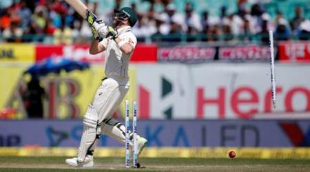 India vs Australia, Ind vs Aus, Aus vs Ind, Bhuvneshwar Kumar, Bhuvneshwar Kumar wickets, Bhuvneshwar Kumar Steve Smith, Steve Smith wicket, sports news, sports, cricket, Indian Express