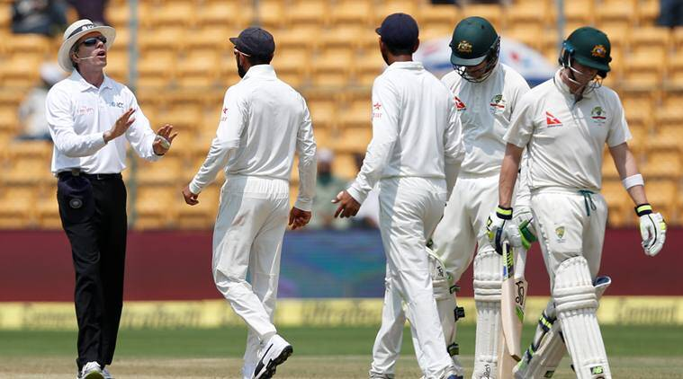 india vs australia, ind vs aus, r ashwin, ashwin, reviewgate, cheteshwar pujara, steve smith, india australia review, cricket news, sports news