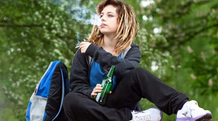 Non nude teen girls smoking apologise