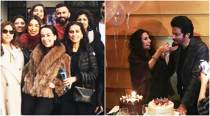Sonam Kapoor, rumoured beau Anand Ahuja join family in London for mother Sunita Kapoor's birthday