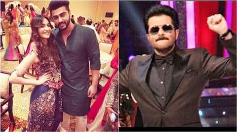 Arjun Kapoor Sonam Kapoor Burn The Dance Floor With Anil