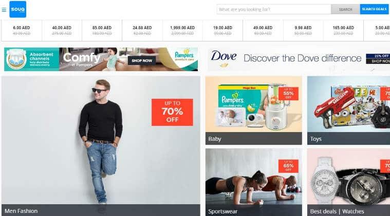 Amazon.com Inc, Dubai based online retailer, Souq.com, Emaar Malls PJSC, Amazon of the Middle East,  Flipkart Online services, e-commerce, online shopping, Amazon's largest acquisitions, Technology, Technology news