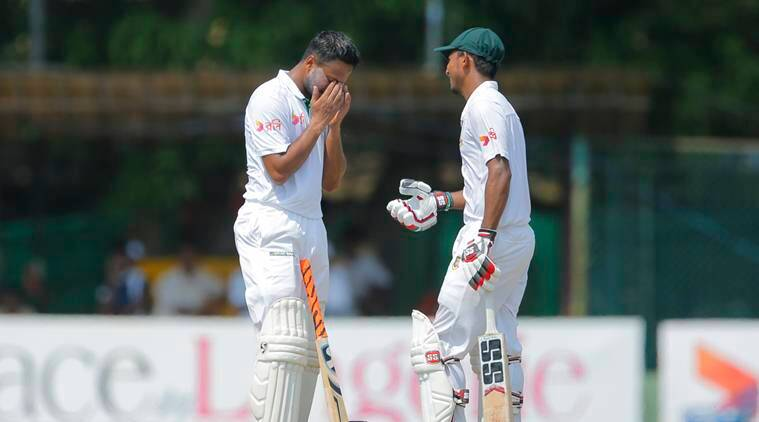 Sri Lanka cricket team, Bangladesh cricket team, Sri Lanka vs Bangladesh, Sri Lanka vs Bangladesh 2nd Test, SL vs Ban 2nd Test Day 3, Shakib Al Hasan, Mosaddek Hossain, cricket news, sports news