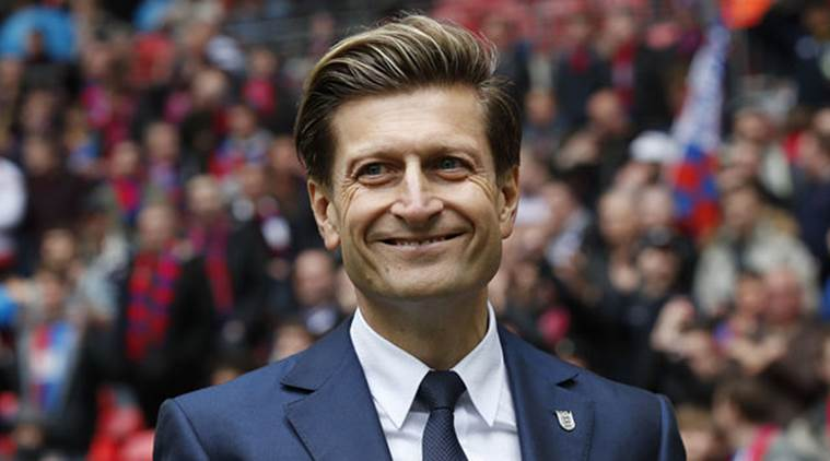 Steve Parish, Steve Parish Crystal Palace, Crystal Palace Steve Parish, Steve Parish Chairman, Wilfried Zaha, Wilfried Zaha goals, sports news, sports, football news, Football, Indian Express