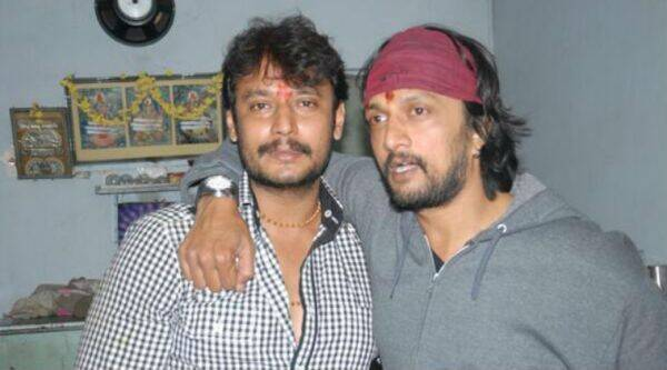 Image result for sudeep and darshan
