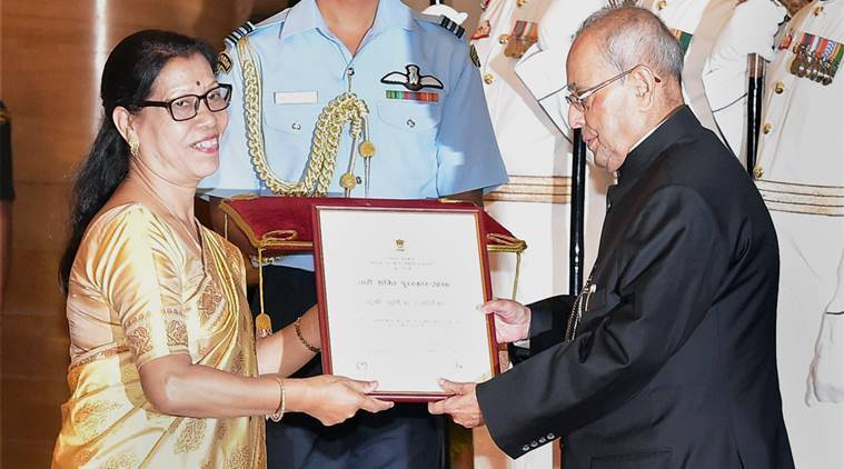 Sumitra Hazarika,  Nari Shakti award,  Nari Shakti award for Sumitra Hazarika, India news, National news, latest news, India news, National news, latest news