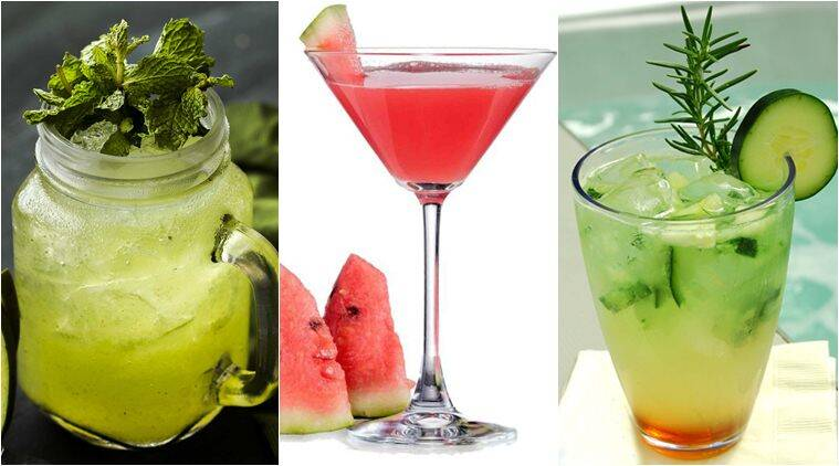 Beat the heat with these 3 refreshing drinks the indian for Cocktail express