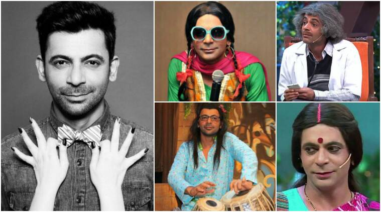 sunil grover, sunil grover the kapil sharma show, sunil grover images, sunil grover looks, sunil grover news