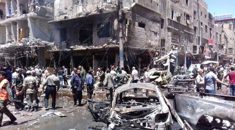 syria, syria suicide bombing, syria refugee camp, refugee camp suicide bombing, rukban refugee camp syria, islamic state, is militants syria, syria latest news, world news