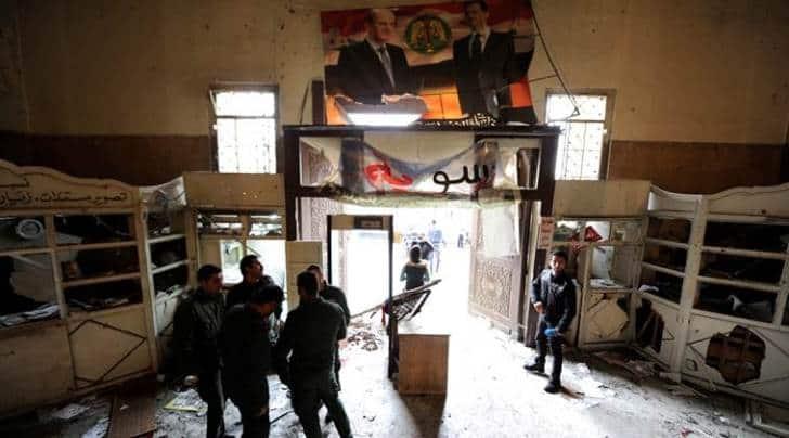 syria, syria airstrike, idlib airstrike, syria blast, syria war, syria conflict, syria news, world news, indian express news