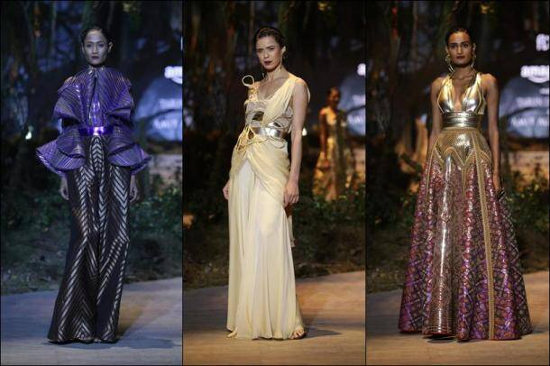 AIFW 2017, Tarun Tahiliani, aifw 2017 Tarun Tahiliani, Tarun Tahiliani collection, amit Aggarwal, aifw 2017 grand finale, Tarun Tahiliani and Amit Aggarwal show, fashion news, lifestyle news, latest news