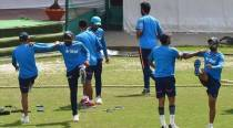 Iyer has a knock at the nets as India prepare