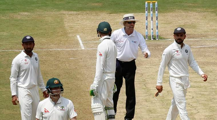 india vs australia drs, ind vs aus, india vs australia second test, ind vs aus second test, india vs australia 2nd test, drs controversy, drs, steve smith drs, virat kohli drs, virat kohli steve smith, kohli smith, BCCI, cricket australia, bcci ca, cricket news, cricket