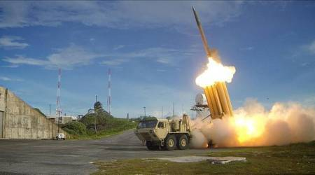 THAAD, What is THAAD, US missile defence system, missile defence system in South Korea, Terminal High-Altitude Area Defense, north korea ballistic missile, world news, indian express news